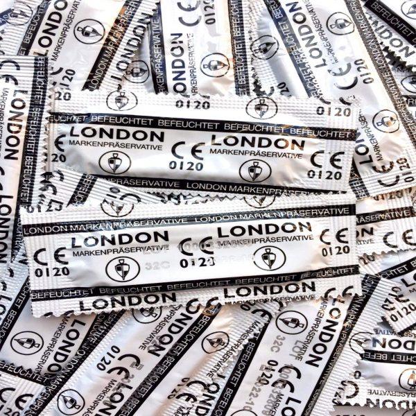 Durex London Wet Q600 Classic Condoms